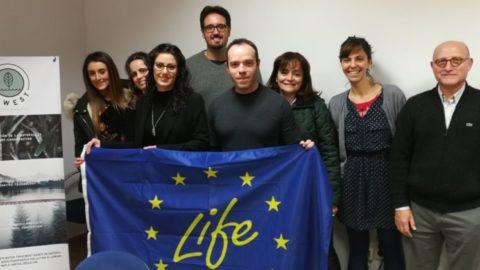 Primera reunión oficial de monitoreo de LIFE NEWEST con los expertos de NEEMO